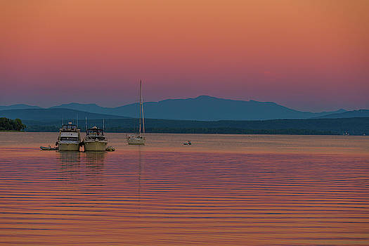 Evening on the Lake by Tim Kirchoff