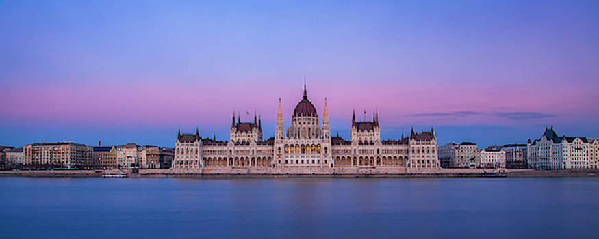 Evening over the Danube by Andrew Soundarajan