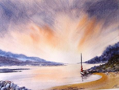Evening sail by Anne Kerr