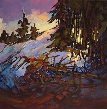 Evening Snow by Catherine Robertson