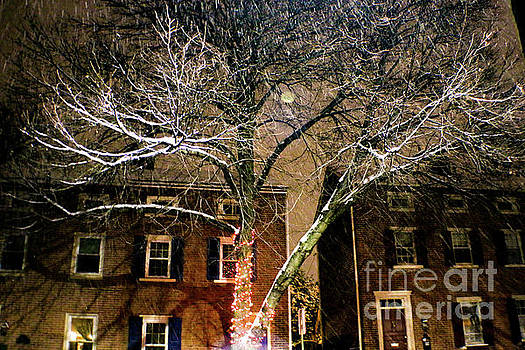 Sandy Moulder - Evening Snow in West Chester