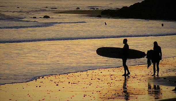 Evening Surf by FD Graham