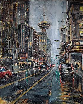 Evening Traffic II by Stefano Popovski