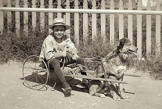 Everett and His Dog by Jayson Tuntland