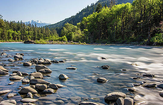Ewha River, Olympic Mountains by Jordan Hill