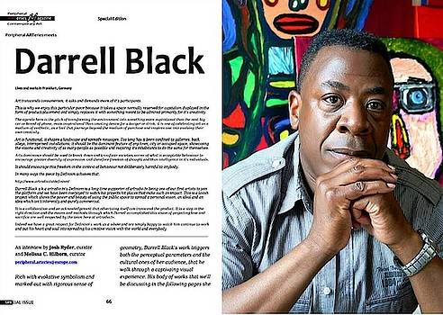 Exclusive interview with Visual Artist Darrell Urban Black by Darrell Black