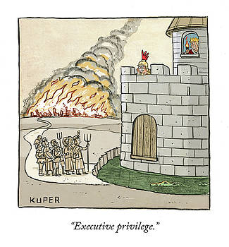 Executive Privilege by Brendan Kuper