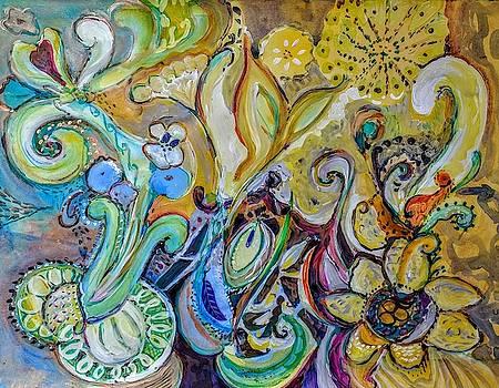 Exuberant Paisley by Joyce Lieberman