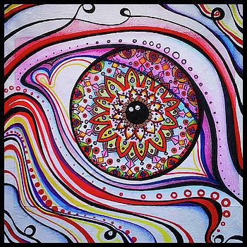 Eye Mandala by Matt Mercer