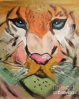 Eyes of My Tiger  by Lisa Gilyard