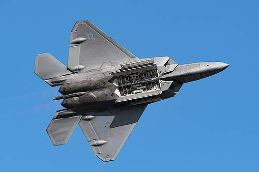 F-22 Weapons Bay Pass by Chris Buff