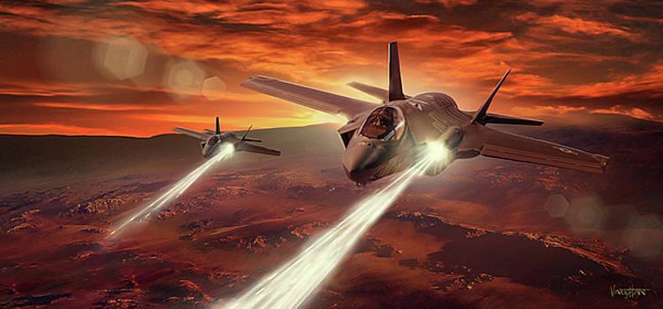 James Vaughan - F-35 Lightning - ground attack