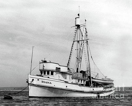 California Views Archives Mr Pat Hathaway Archives - F/V Diana in Monterey Bay Circa 1948