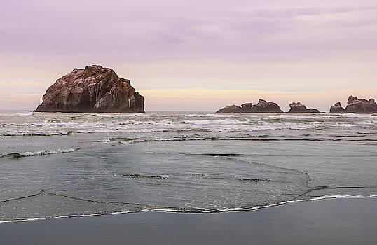 Face Rock, Bandon Beach, Oregon by Dawn Richards