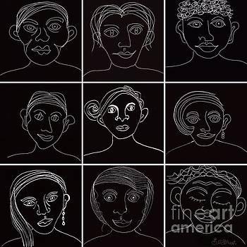 Caroline Street - Faces in Line