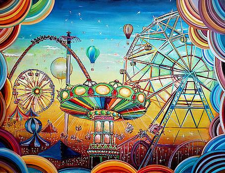 Fairground by Radosveta Zhelyazkova