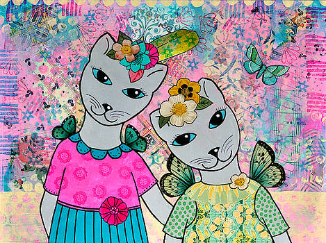 Fairy Cat Friends by Cat Whipple
