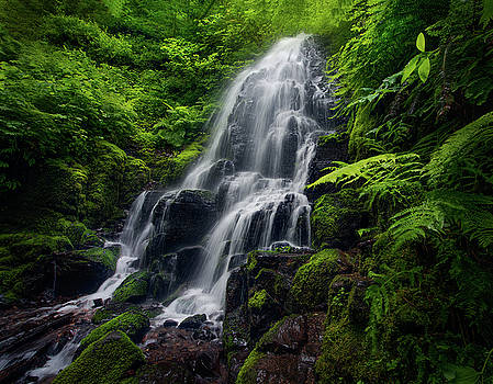 Fairy Falls Long Exposure In Colombia by Sheila Haddad