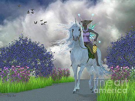 Corey Ford - Fairy Lila with Unicorn