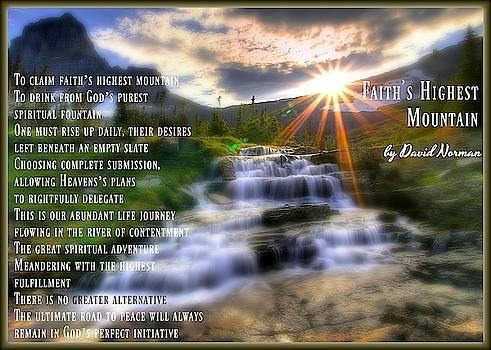 Faith's Highest Mountain by David Norman