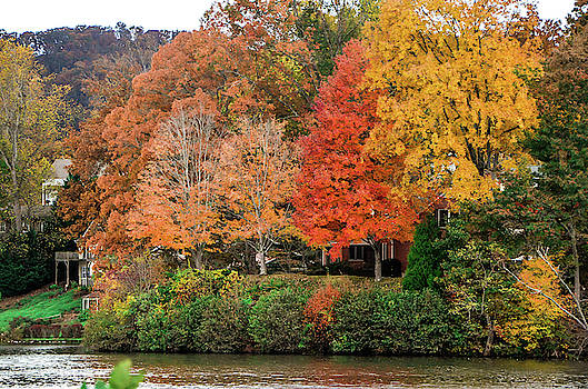 Fall at the Lake by CK Brown
