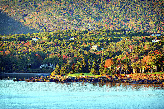 Fall Foliage in Bar Harbor by Bill Swartwout Fine Art Photography