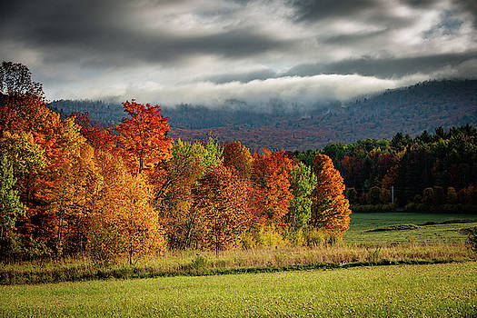 Fall In the Vermont Mountains by Tim Kirchoff