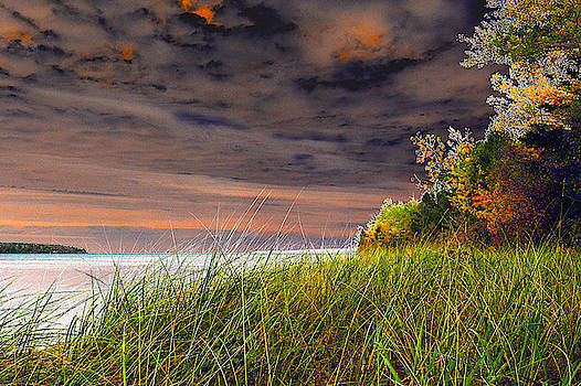 Fall on Lake Superior by Tom Kelly