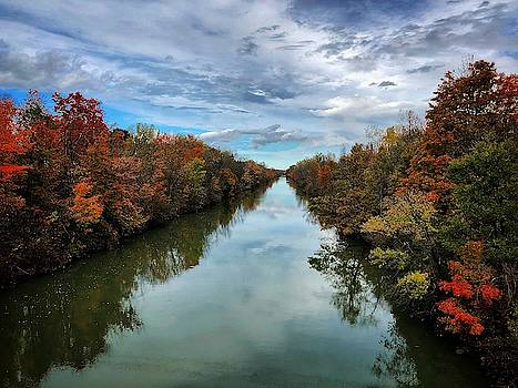 Fall on the canal by Johnathan Erickson