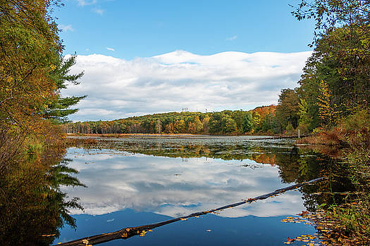 Fall Reflections on Louisa Pond by Jeff Severson