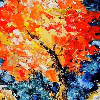 Fall Tree by Carol Stanley