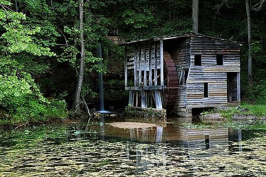 Falling Spring Mill by Wesley Nesbitt