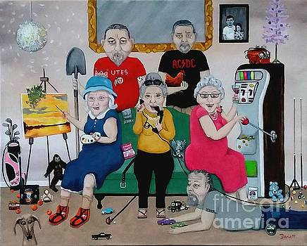 Family Reunion  by Danett Britt
