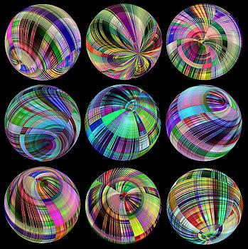 FANTASTIC  9  Spheres by Grace Iradian