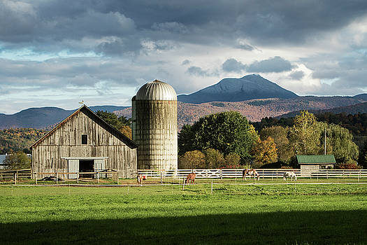 Farm and Hump by Dave Schmidt