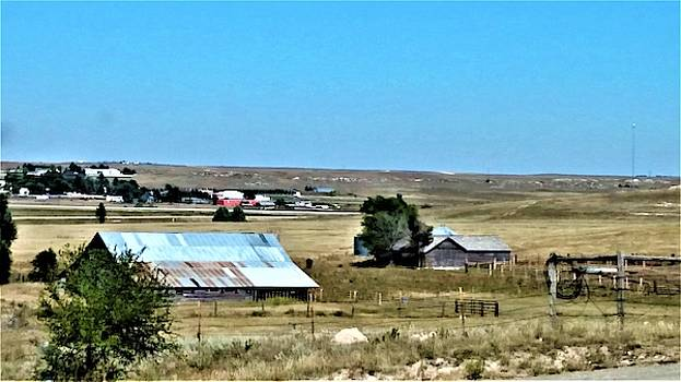 Farm in Nebraska by Peggy Leyva Conley