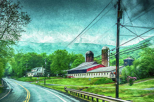 Farm land by Alan Goldberg