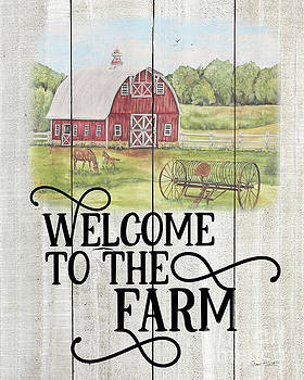Farm Signs A by Jean Plout