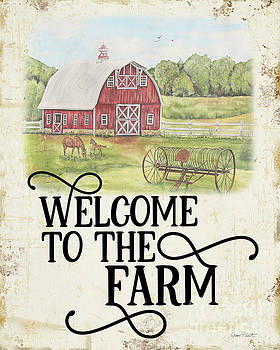Farm Signs B by Jean Plout