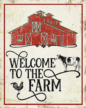 Farm Signs C by Jean Plout