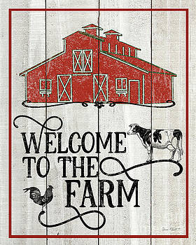 Farm Signs D by Jean Plout