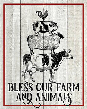 Farm Signs E by Jean Plout