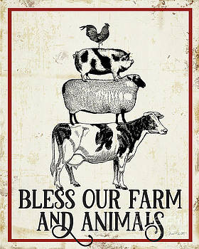 Farm Signs F by Jean Plout