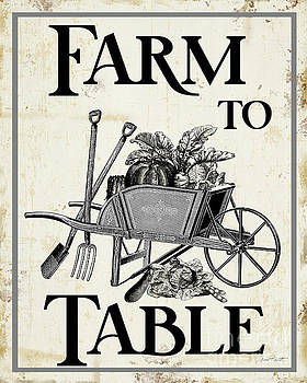 Farm Signs G by Jean Plout