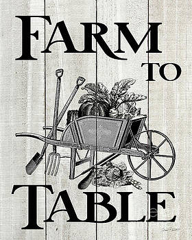 Farm Signs H by Jean Plout