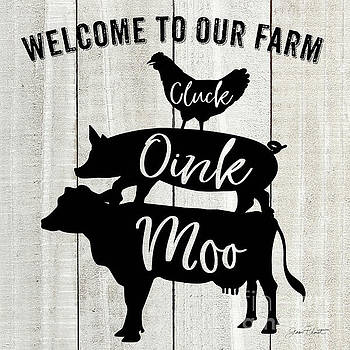 Farm Signs I by Jean Plout