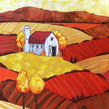 Farmhouse Fields by Jennifer Allison