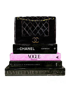 Fashion books with bag by Del Art