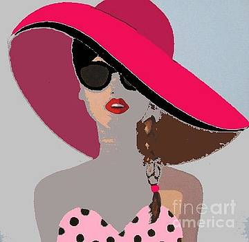 Fashion on the Beach  by Vesna Antic