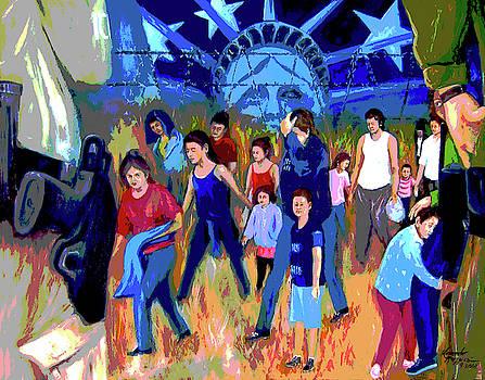 FEAR. . . The New American Dream by Leonardo Ruggieri